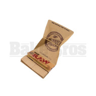 RAW ROLLING PAPERS CLASSIC 1 1/4 SIZE 50 LEAVES ARTESANO UNFLAVORED Pack of 15