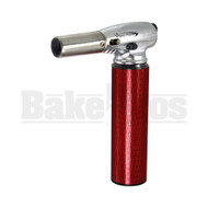 """VECTOR NITRO BUTANE TORCH 2 FLAME ADJUSTABLE RED Pack of 1 7"""""""