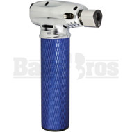 VECTOR MINITRO BUTANE TORCH 2 FLAME ADJUSTABLE BLUE Pack of 1 6""