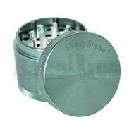 "SHARPSTONE HARD TOP GRINDER 4 PIECE 2.2"" GRAY Pack of 1"