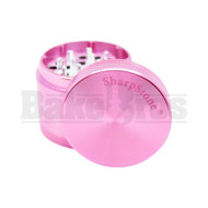 "SHARPSTONE HARD TOP GRINDER 4 PIECE 2.2"" PINK Pack of 1"