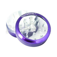 "SHARPSTONE CLEAR TOP GRINDER 2 PIECE 2.2"" PURPLE Pack of 1"