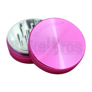 "SHARPSTONE HARD TOP GRINDER 2 PIECE 2.2"" PINK Pack of 1"
