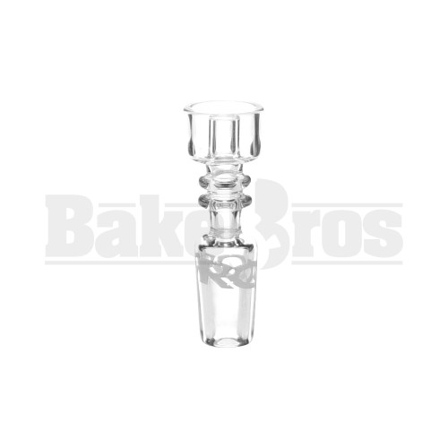 ROOR 14MM NAIL SLIDE DOMELESS BUCKET QUARTZ CLEAR MALE