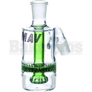 MAVERICK ASHCATCHER HONEYCOMB SHOWERHEAD BODYBOWL ANGLE JOINT GREEN MALE 18MM