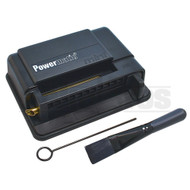 POWERMATIC MINI CIGARETTE INJECTOR MACHINE 100MM & KINGSIZE BLACK Pack of 1 100MM