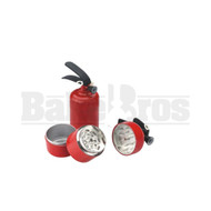 """FIRE EXTINGUISHER GRINDER 3 PIECE 3.5"""" RED Pack of 1"""