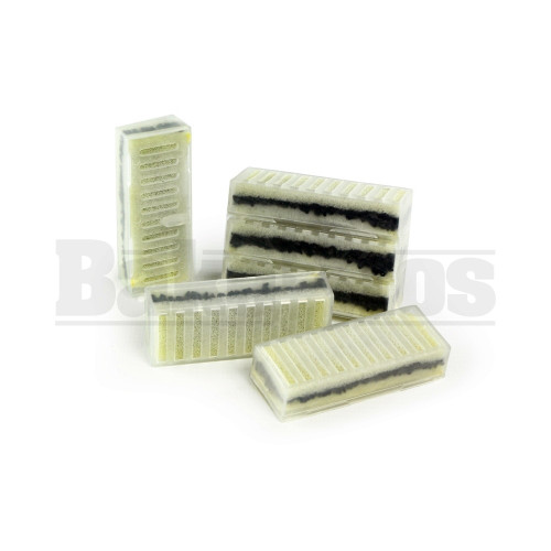 REPLACEMENT CARBON FILTERS FOR SMOKELESS ASHTRAY BOX OF 6 CARBON