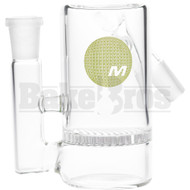 MAVERICK ASHCATCHER HONEYCOMB ANGLED JOINT CLEAR MALE 14MM