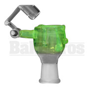 KROWN KUSH FEMALE HONEYBUCKET DRIP GLASS SLIME GREEN 18MM