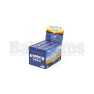 ELEMENTS PRE-ROLLED CONES 1 1/4 ULTRA THIN RICE 6 CONES UNFLAVORED Pack of 30