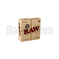 "RAW RAWTHENTIC UNREFINED 5""x5"" PARCHMENT PAPER BOX(500 LEAVES) UNFLAVORED Pack of 1"