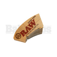 RAW NATURAL ROLLING CONE TIPS PERFECTO 32 TIPS UNFLAVORED Pack of 1