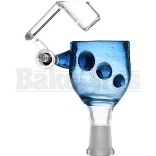 KROWN KUSH FEMALE HONEYBUCKET 3 GRIP DOTS BLUE STARDUST 10MM