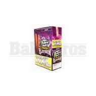 DOUBLE!! PLATINUM XXL CIGAR WRAPS 2 PER PACK GRAPE Pack of 25