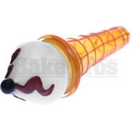 """HAND PIPE ICE CREAM CONE DRUMSTICK 6"""" ASSORTED COLORS"""