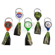 LIGHTER LEASH 420 SERIES RETRACTABLE ASSORTED DESIGN Pack of 30