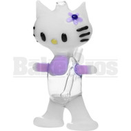 "BLUE LABEL WP KITTY CAT KITTEN CARTOON #3 5"" PURPLE MALE 10MM"