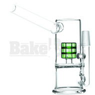 """WP GRID PERC SIDECAR LONG MOUTH 7"""" GREEN MALE 14MM"""