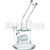 "WP SIDEWAYS GRID PERC 10"" STEMLESS CLEAR FEMALE 18MM"
