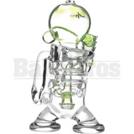 "PULSE WP FAB MUNNY OIL RIG SWISS PERC FABERGE EGG 7"" SLIME GREEN FEMALE 14MM"