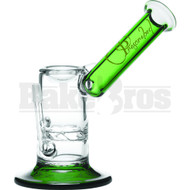 "PRESCRIBED WP TURBINE SIDECAR MOUTH W/ VAPOR DISH 6"" GREEN MALE 10MM"