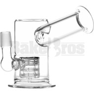 """WP GRID PERC LARGE TRUMPET MOUTH 5"""" CLEAR MALE 18MM"""