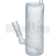 """HIGH TECH WP MEDUSA CUSTOM CAN SAND CARVED WITH DOME 8"""" CLEAR MALE 14MM"""