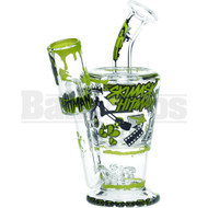 "HITMAN VS SKI MASK WP SUNDAE CUP COLLABORATION 6"" CLEAR MALE 10MM"
