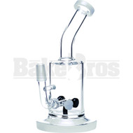 """WP TABLE TOP RIG WITH TIRE PERC BENT NECK 7"""" IVORY WHITE MALE 14MM"""