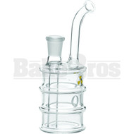 "WP OIL DRUM 6"" CLEAR FEMALE 14MM"