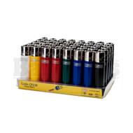 "CLIPPER LIGHTER 3"" SOLID COLOR ASSORTED COLORS Pack of 48"