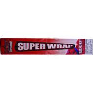 "JUICY JAYS SUPER WRAP 9"" RASPBERRY Pack of 1"