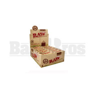 RAW ROLLING PAPERS ROLLS ORGANIC HEMP 5 METER ROLLS UNFLAVORED Pack of 24