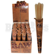 RAW CONES CLASSIC PRE ROLLED KING SIZE 3 CONES PER PACK UNFLAVORED Pack of 32