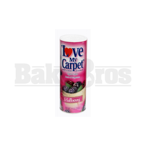 LOVE MY CARPET STASH CAN SAFETY DIVERSION SECRET COMPARTMENT MULBERRY 14 OZ