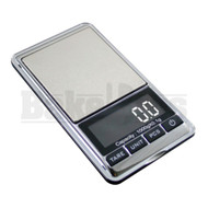 AWS DIGITAL SCALE CHROME SERIES 0.1g 1000g SILVER