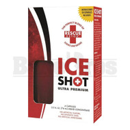 RED 2 FL OZ AND 4 CAPSULES