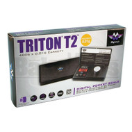 MY WEIGH ELECTRONIC SCALE TRITON T2 SERIES 0.01g 400g BLACK