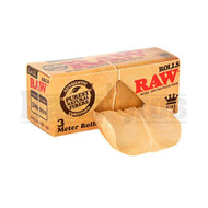 RAW ROLLING PAPERS CLASSIC KING SIZE ROLL 3 METERS UNFLAVORED Pack of 1
