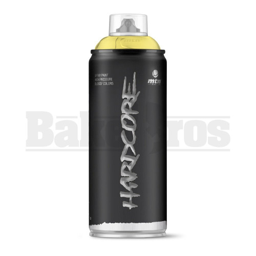 MONTANA COLORS HARDCORE SPRAY CAN PAINT 400ML BEACH YELLOW Pack of 1
