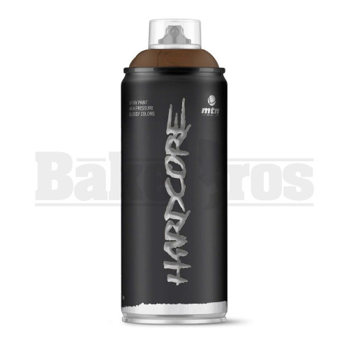 MONTANA COLORS HARDCORE SPRAY CAN PAINT 400ML CHOCOLAT BROWN Pack of 1