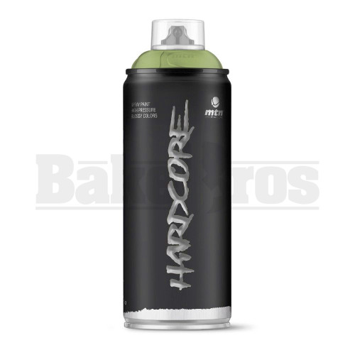 MONTANA COLORS HARDCORE SPRAY CAN PAINT 400ML APPLE GREEN Pack of 1