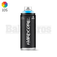 MONTANA COLORS HARDCORE SPRAY CAN PAINT 400ML GALAXY BLUE Pack of 1