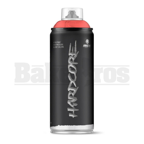 MONTANA COLORS HARDCORE SPRAY CAN PAINT 400ML BUDDHA RED Pack of 1