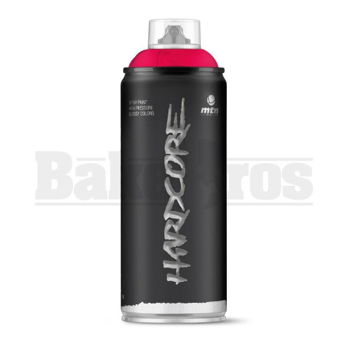 MONTANA COLORS HARDCORE SPRAY CAN PAINT 400ML AKARI RED Pack of 1