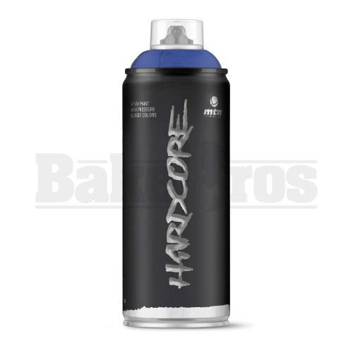 MONTANA COLORS HARDCORE SPRAY CAN PAINT 400ML ANDROMEDA BLUE Pack of 1