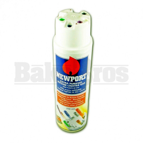 NEWPORT ZERO EXTRA PURIFIED BUTANE GAS MULTI FLINT Pack of 12 10 FL OZ