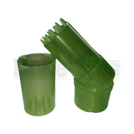"MEDTAINER CONTAINER GRINDER 3 PIECE 3.5"" TRANSLUCENT GREEN Pack of 1"