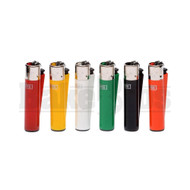 "CLIPPER LIGHTER 3"" SOLID COLOR ASSORTED COLORS Pack of 6"